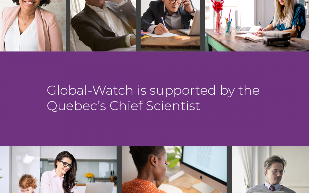 Quebec's Chief Scientist supports the dissemination of scientific content from the Global-Watch platform during the COVID-19 pandemic
